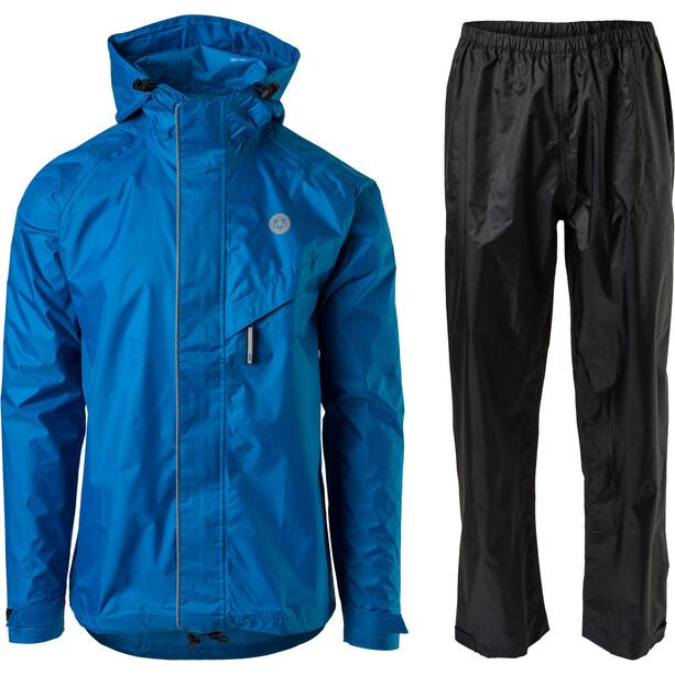 AGU Essential Passat Regenanzug blau/schwarz