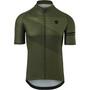 AGU Essential Striped Kurzarm Trikot Herren army green