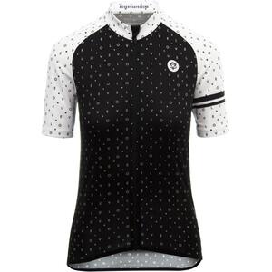AGU Velo Love Kortärmad Cykeltröja Dam svart/vit svart/vit