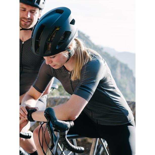AGU Premium Aero Kurzarm Trikot Damen schwarz