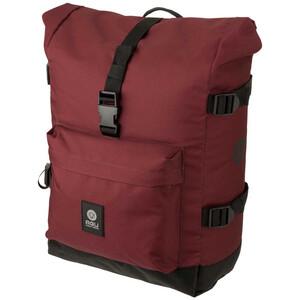 AGU Urban H2O II Roll-Top Double Pannier Bag MIK, rouge rouge
