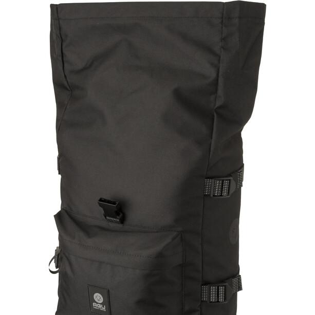 AGU Urban H2O II Roll-Top Single Pannier Bag, black