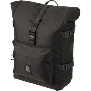 AGU Urban H2O II Roll-Top Single Pannier Bag, noir noir