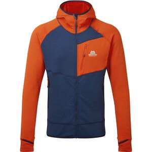 Mountain Equipment Eclipse Hooded Jacket Men, bleu/orange bleu/orange