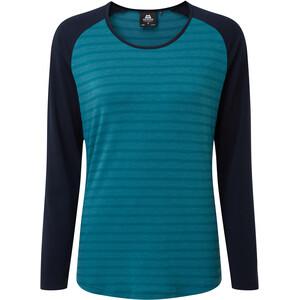 Mountain Equipment Redline Bluzka z długim rękawem Kobiety, turkusowy/niebieski turkusowy/niebieski