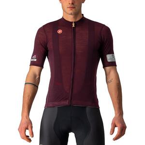 Castelli Giro d'Italia Montalcino SS Jersey Men, rouge rouge