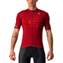 Castelli Giro d'Italia Zoncolan SS Jersey Men, rød