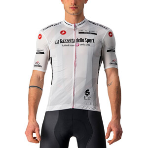 Castelli Giro d'Italia 104 Competizione SS Trøje Herrer, hvid hvid