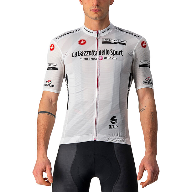Castelli Giro d'Italia 104 Competizione SS Jersey Men, hvid