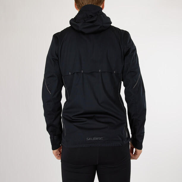 Salming Abisko Rain Jacket Men, noir
