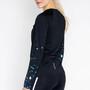 Salming Lugnet Langarmshirt Damen schwarz