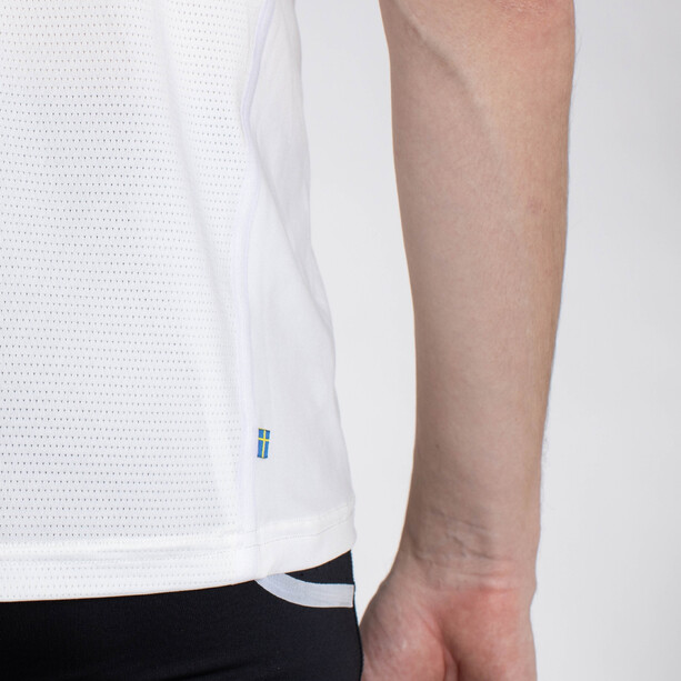 Salming Sandviken 21 SS Shirt Men, hvid