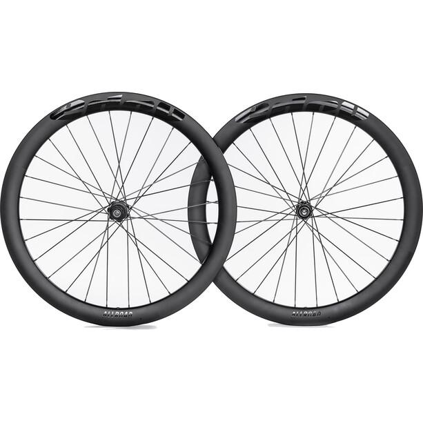 edco Allroad Carbon Disc Laufradsatz 622-19 50mm 12x100mm/12x142mm Shimano 11-fach schwarz