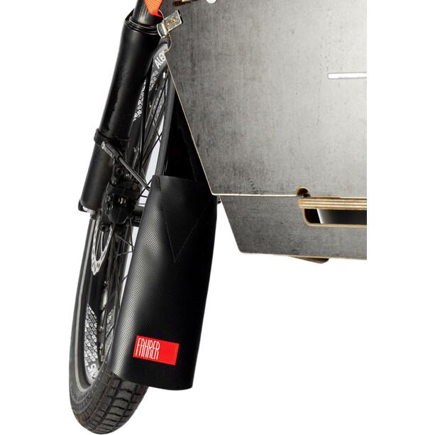 Fahrer Berlin Latz-E Plus Mud Flap til 65-75mm Fender, sort