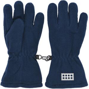 LEGO wear Lwazun 722 Fleece Gloves Kids, niebieski niebieski