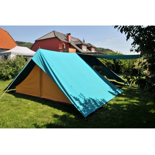 Ferrino Leader Tent, turkoosi/oranssi