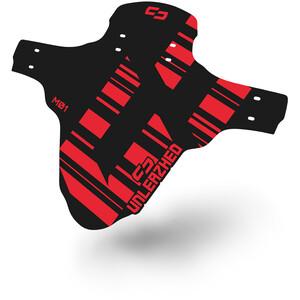 "UNLEAZHED Unsplash M01 Vorderradschutzblech 26-29"" inkl. 4 Kabelbinder rot rot"