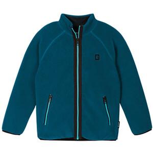 Reima Turkki Sweater Jacket Kids, petrol petrol