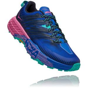 Hoka One One Speedgoat 4 Schuhe Damen blau/bunt blau/bunt