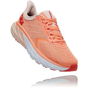 Hoka One One Arahi 5 Shoes Women cantaloupe/silver peony cantaloupe/silver peony
