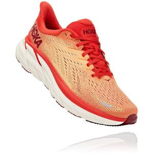 Hoka One One Clifton 8 Schuhe Herren orange/weiß orange/weiß