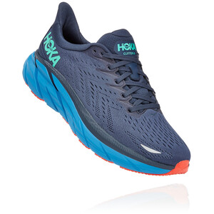 Hoka One One Clifton 8 Shoes Men outer space/vallarta blue outer space/vallarta blue