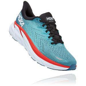 Hoka One One Clifton 8 Schuhe Herren blau/weiß blau/weiß