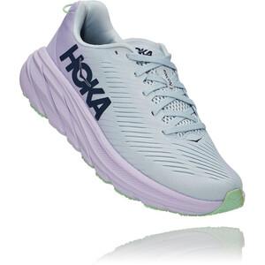 Hoka One One Rincon 3 Wide Laufschuhe Damen blau/pink blau/pink