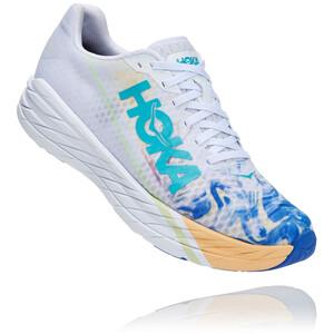 Hoka One One Rocket X Schuhe Herren weiß/blau weiß/blau