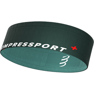 Compressport Free Pasek, petrol/zielony petrol/zielony