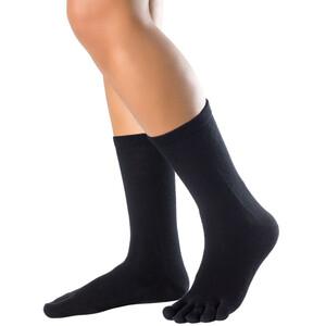 Knitido Cotton & Merino Melange Socks, noir noir