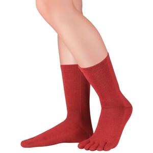 Knitido Cotton & Merino Melange Socks, rojo rojo