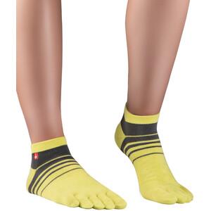 Knitido Spins Laufsocken gelb/grau gelb/grau