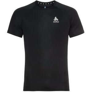 Odlo Essential Rundhals Kurzarm T-Shirt Herren schwarz schwarz
