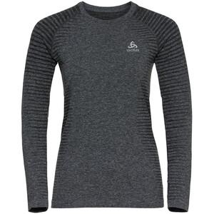 Odlo Essential Seamless T-Shirt Langarm Rundhals Damen grau grau