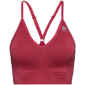 Odlo Padded Seamless Soft 2.0 Sports Bra Women deep claret deep claret