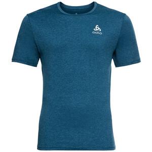 Odlo Run Easy 365 Rundhals Kurzarm T-Shirt Herren blau blau