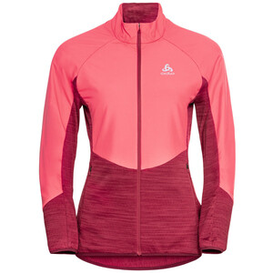 Odlo Run Easy Warm Hybrid Jacke Damen rot rot