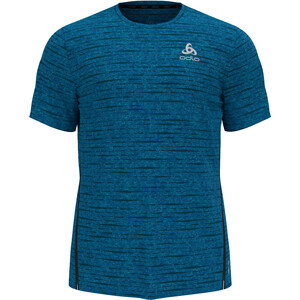 Odlo Zeroweight Engineered CT T-Shirt S/S Crew Neck Men, blauw blauw