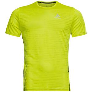 Odlo Zeroweight Engineered CT Rundhals Kurzarm T-Shirt Herren grün grün