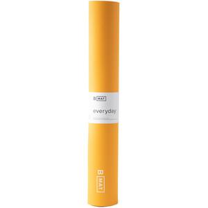 B Yoga B MAT Everyday Yoga Mat 180x66cm x 4mm, amarillo amarillo