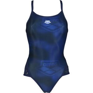 arena Iconic Super Fly Back Swimsuit Women, bleu bleu