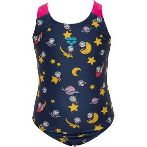 arena Space Cats Swimsuit Girls, azul azul