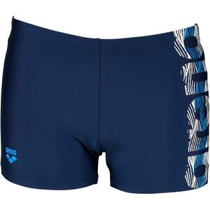 arena Bicolour Shorts Men, niebieski niebieski
