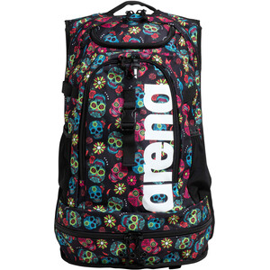 arena Fastpack 2.2 Allover Backpack, Multicolor/negro Multicolor/negro