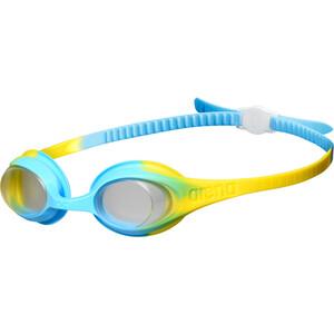 arena Spider Goggles Kids, niebieski/żółty niebieski/żółty