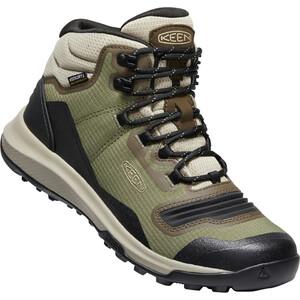 Keen Tempo Flex Mid WP Schuhe Damen oliv/beige oliv/beige