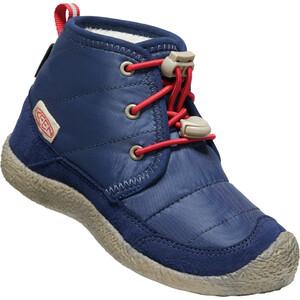 Keen Howser II Chukka WP Shoes Kids, blauw blauw