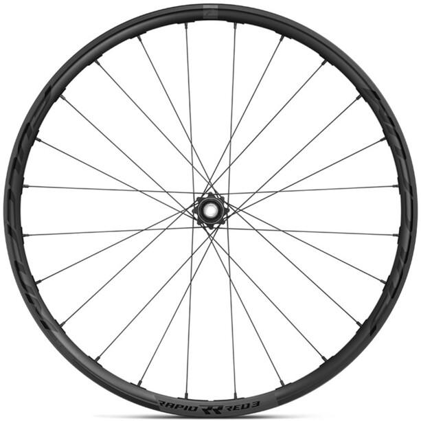 "Fulcrum Rapid Red 3 DB Gravel Wheel Set 28"" 12x100/12x142mm HG 8-11-speed Disc TLR, sort"