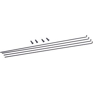 Fulcrum Speichensatz Hinterrad Links 4 Stück für Racing 7 LG CX Drahtreifen